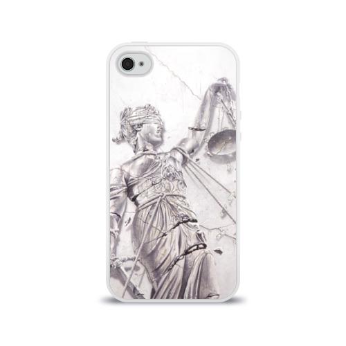 Чехол для Apple iPhone 4/4S силиконовый глянцевый  Фото 01, Metallica 3
