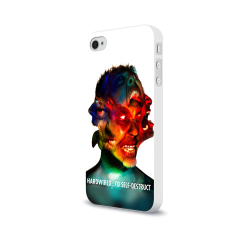 Чехол для Apple iPhone 4/4S soft-touch  Фото 03, Metallica 4