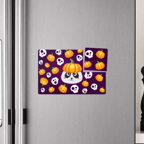 Магнитный плакат 3Х2  Фото 04, Хэллоуин панда