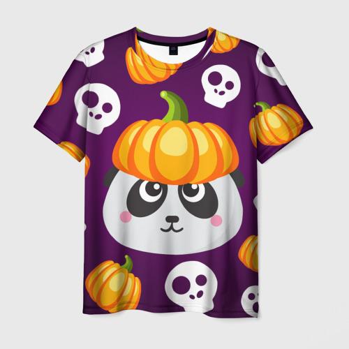 Мужская футболка 3D Хэллоуин панда