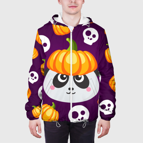 Мужская куртка 3D  Фото 04, Хэллоуин панда