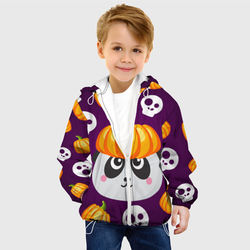 Детская куртка 3D  Фото 03, Хэллоуин панда