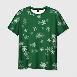 Снежная феерия (зелёный)