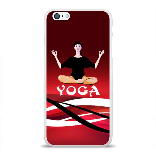 Чехол для Apple iPhone 6Plus/6SPlus силиконовый глянцевый  Фото 01, Yoga