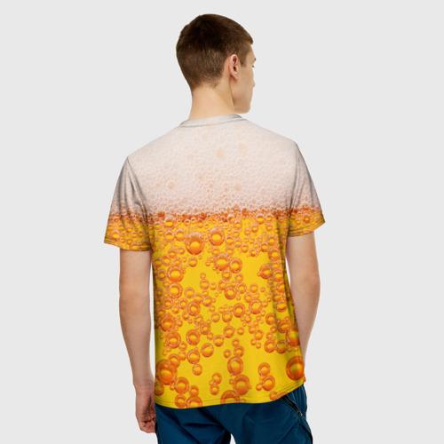 Мужская футболка 3D Пивная тема Фото 01