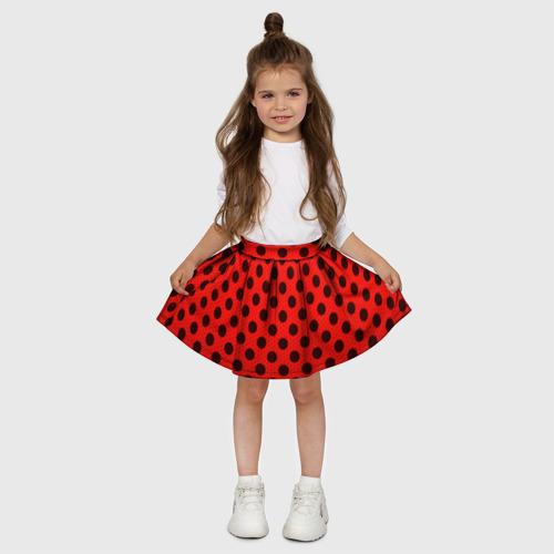 Детская юбка-солнце 3D  Фото 03, Леди Баг