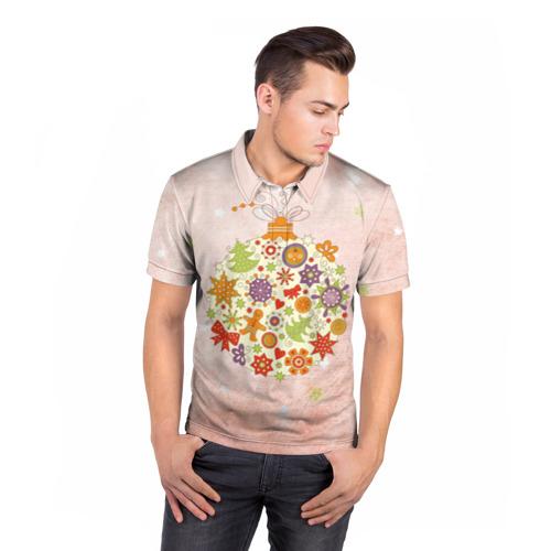Мужская рубашка поло 3D  Фото 05, Игрушка