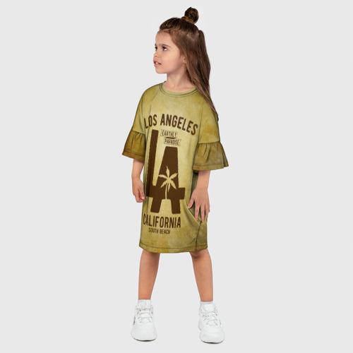 Детское платье 3D  Фото 03, Лос-Анджелес