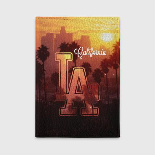 Обложка для автодокументов Калифорния Фото 01