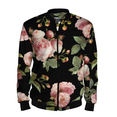 Розовые розы на черном как у Тайлера