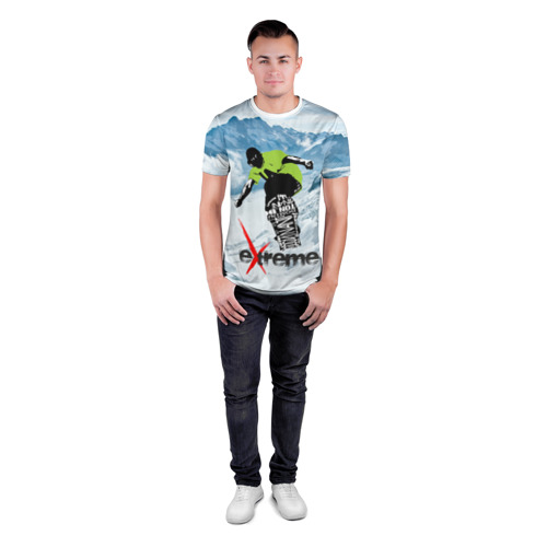 Мужская футболка 3D спортивная  Фото 04, Extreme