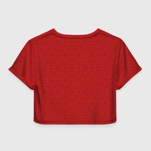 Женская футболка 3D укороченная  Фото 02, Love Shershavel 3