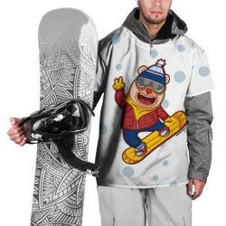 Мишка сноубордист