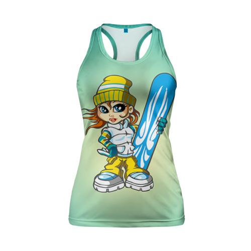 Snowboard girl 1