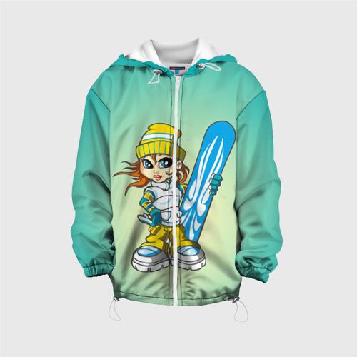 Детская куртка 3D  Фото 01, Snowboard girl 1