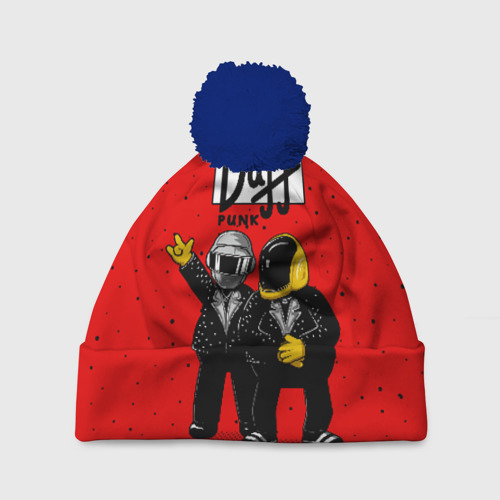 Шапка 3D c помпоном Daff Punk