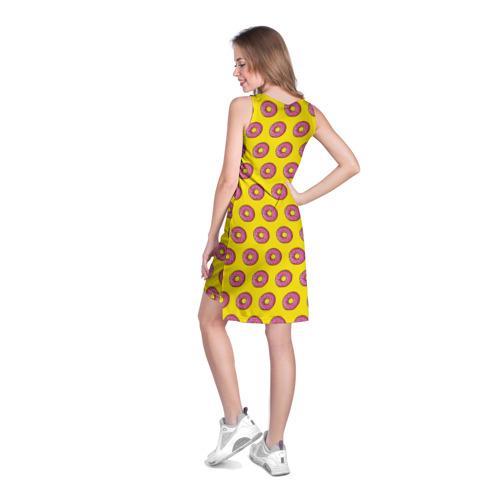 Платье-майка 3D  Фото 04, Пончики Гомера Симпсона