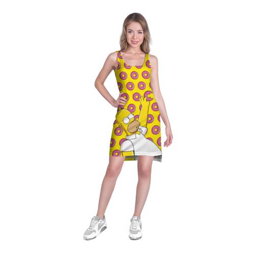 Платье-майка 3D  Фото 03, Пончики Гомера Симпсона