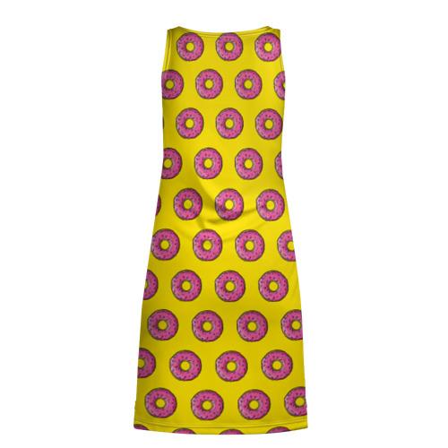 Платье-майка 3D  Фото 02, Пончики Гомера Симпсона
