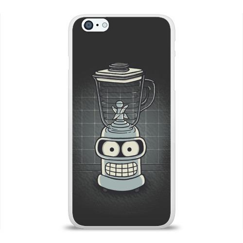 Чехол для Apple iPhone 6Plus/6SPlus силиконовый глянцевый  Фото 01, Bender Blender