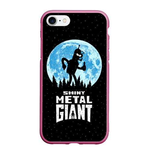 Чехол для iPhone 7/8 матовый Bender Metal Giant Фото 01