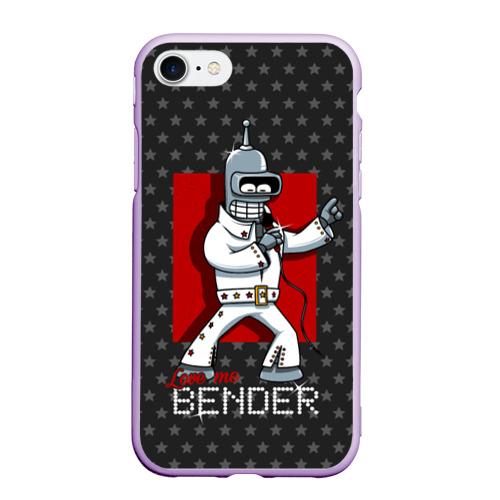 Чехол для iPhone 7/8 матовый Bender Presley Фото 01