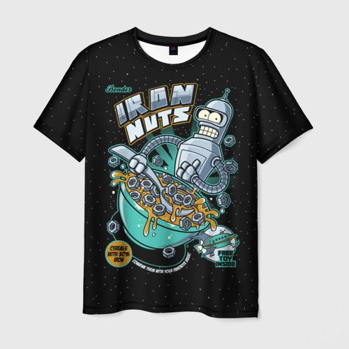 Мужская футболка 3D  Фото 03, Iron Nuts