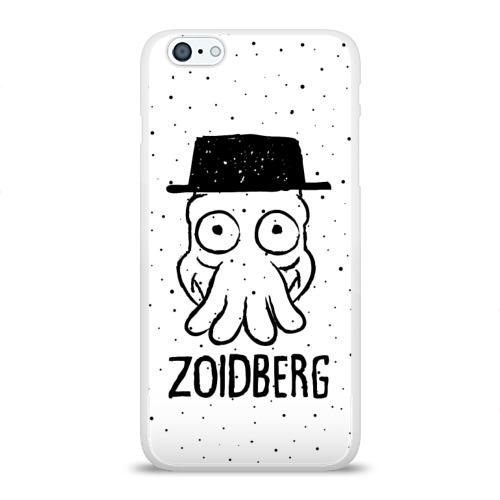 Чехол для Apple iPhone 6Plus/6SPlus силиконовый глянцевый  Фото 01, Zoidberg