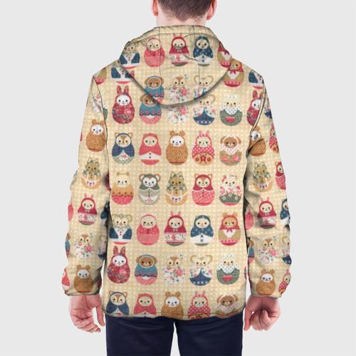 Мужская куртка 3D  Фото 05, Матрешки