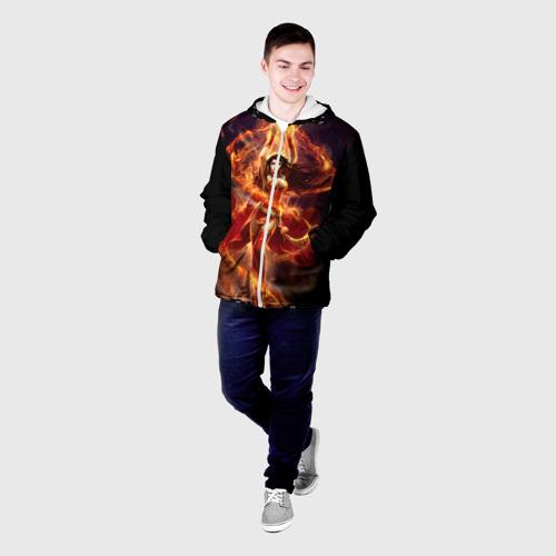 Мужская куртка 3D  Фото 03, Девушка в огне