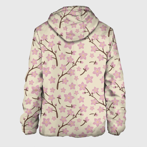 Мужская куртка 3D  Фото 02, Цветы вишни