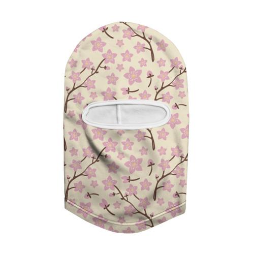 Балаклава 3D  Фото 02, Цветы вишни