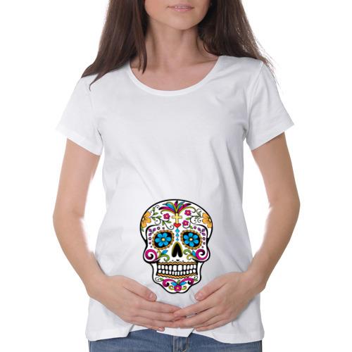 Футболка для беременных хлопок  Фото 01, День Мертвых