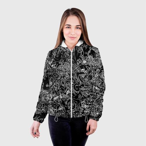 Женская куртка 3D  Фото 03, Монстры