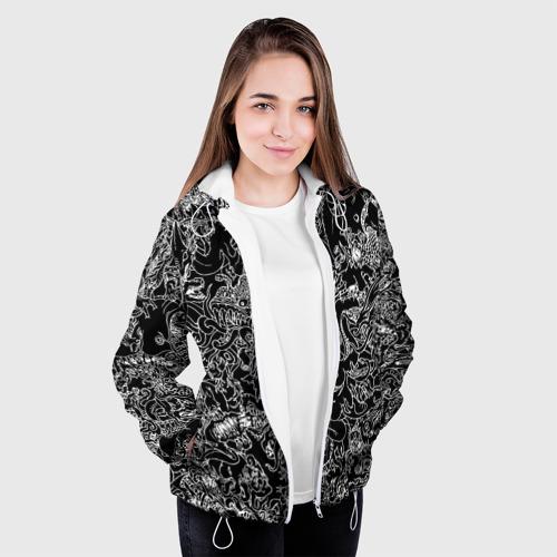 Женская куртка 3D  Фото 04, Монстры