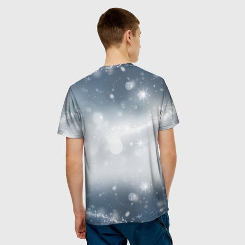 Мужская футболка 3D  Фото 02, С Новым годом!