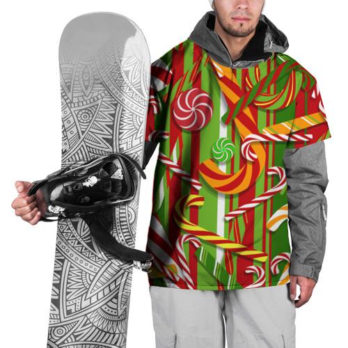 Накидка на куртку 3D  Фото 01, С Новым годом!