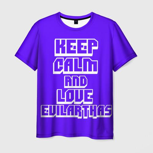 Мужская футболка 3D Люби Артаса