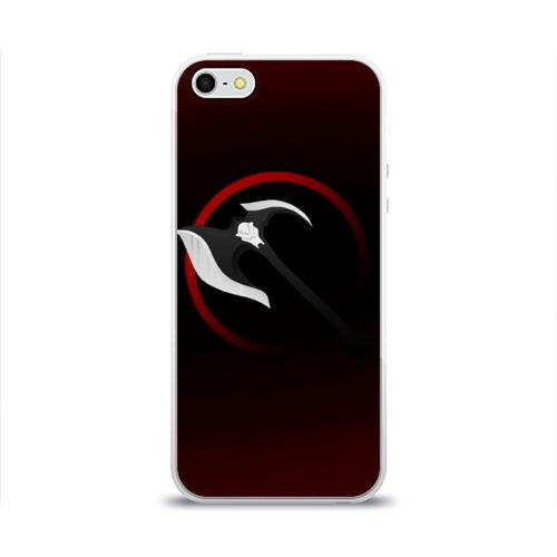 Чехол для Apple iPhone 5/5S силиконовый глянцевый  Фото 01, Дариус