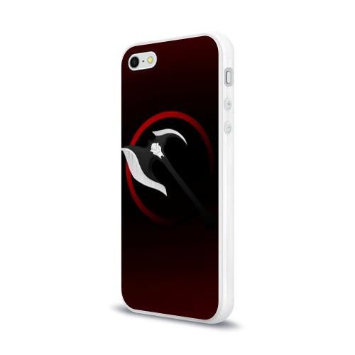 Чехол для Apple iPhone 5/5S силиконовый глянцевый  Фото 03, Дариус