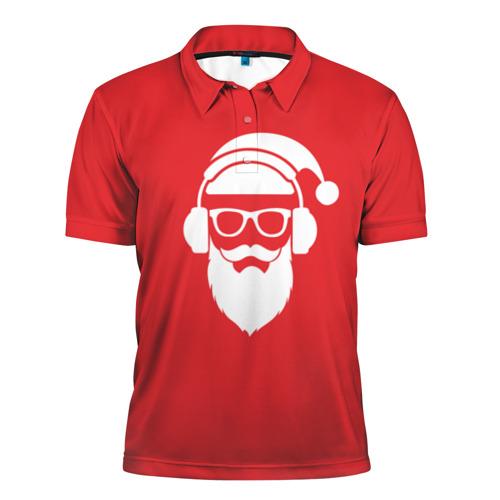 Мужская рубашка поло 3D  Фото 01, Дед мороз