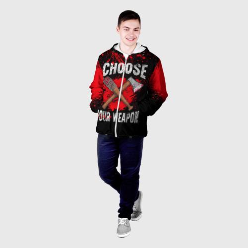 Мужская куртка 3D  Фото 03, Choose Your Weapon