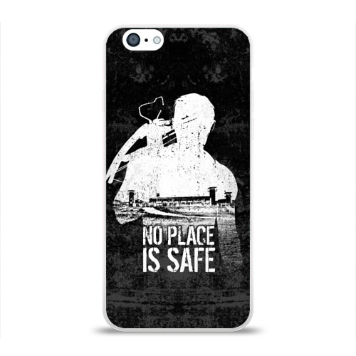 Чехол для Apple iPhone 6 силиконовый глянцевый No Place is Safe Фото 01