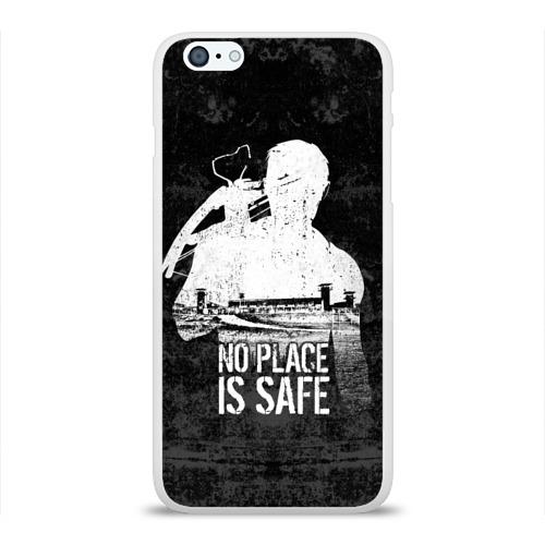 Чехол для Apple iPhone 6Plus/6SPlus силиконовый глянцевый No Place is Safe Фото 01