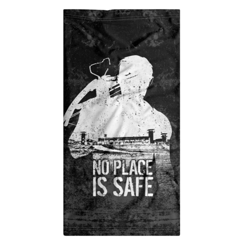 Бандана-труба 3D No Place is Safe Фото 01