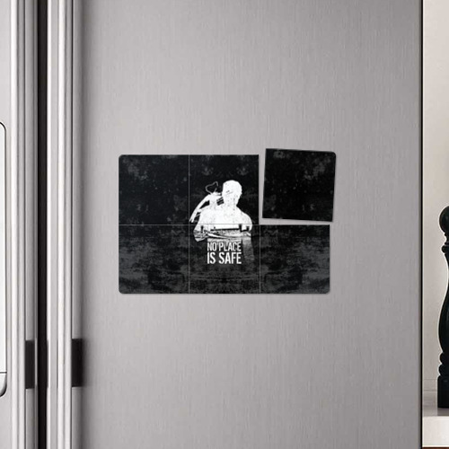 Магнитный плакат 3Х2  Фото 04, No Place is Safe
