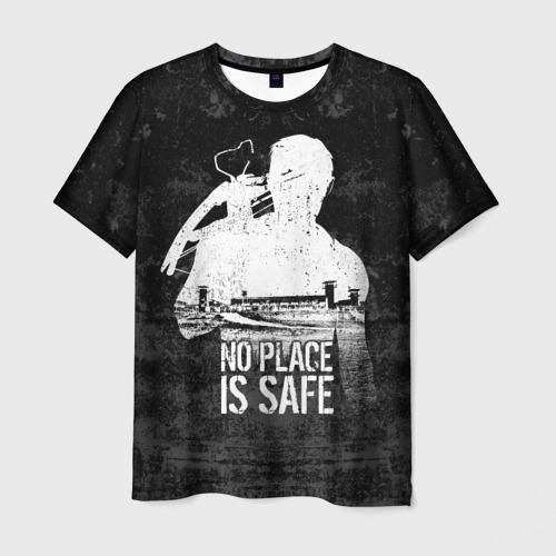 Мужская футболка 3D  Фото 03, No Place is Safe
