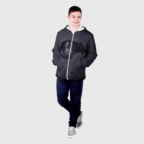 Мужская куртка 3D  Фото 03, Волчонок