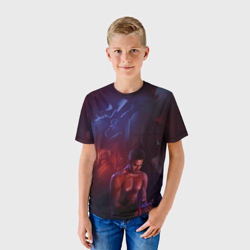 Детская футболка 3D  Фото 01, Волчонок