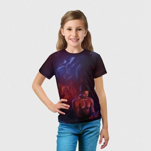 Детская футболка 3D  Фото 03, Волчонок